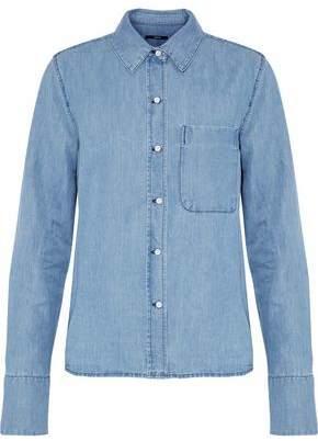 J Brand Cotton And Linen-Blend Chambray Shirt