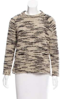 Ulla Johnson Long Sleeve Bouclé Sweater