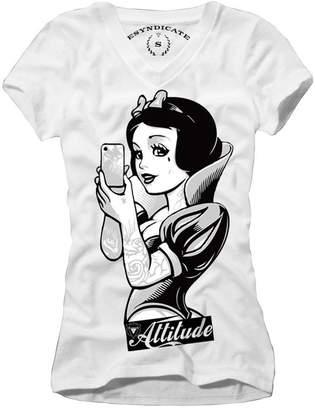 Obey E1syndicate Woman T-Shirt Snow Selfie Attitude Blogger Rockabilly S-L