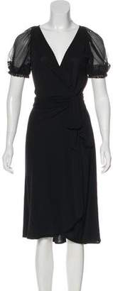 Yigal Azrouel Knee-Length Wrap Dress