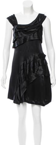 Miu MiuMiu Miu Silk Cocktail Dress