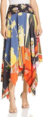 Preen Line Printed Handkerchief Skirt