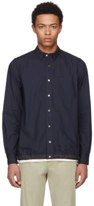 Sacai Navy Typewriter Shirt