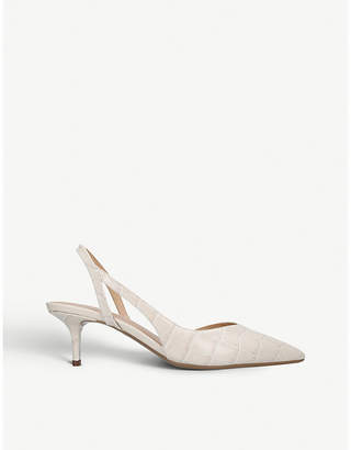 MICHAEL Michael Kors Eliza Flex leather slingback pumps