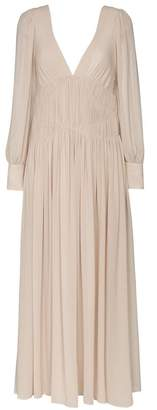 Stella McCartney Carleigh silk-georgette maxi dress