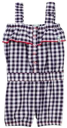 Lilly + Sid Vintage Frill Gingham Playsuit (Toddler & Little Girls)