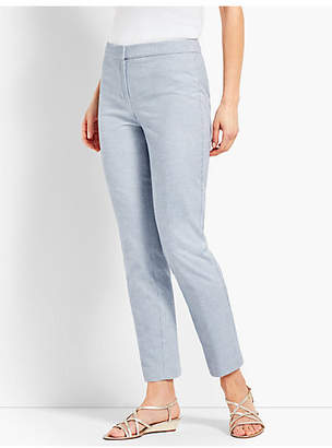 Talbots Biscay Slim-Leg Ankle Pant