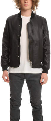 Officine Generale Efy Leather Jacket