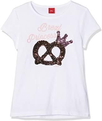 S'Oliver Girl's 52.807.32.5528 T-Shirt