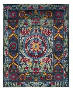 Suzani Collection Oriental Rug, 8' x 9'10