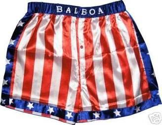 Rocky Balboa Apollo Movie Boxing American Flag Shorts