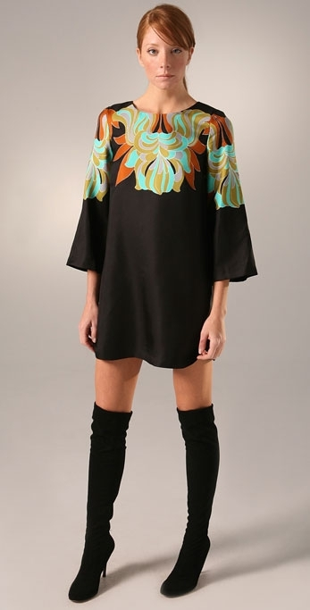 Tibi Deco Shift Dress