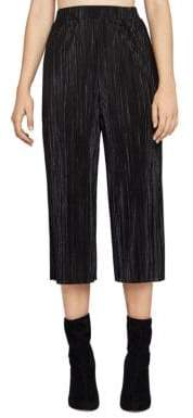 BCBGeneration Pleated Plisse Gaucho Pants