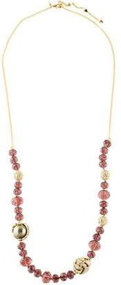 Alexis Bittar Faux Pearl & Crystal Necklace