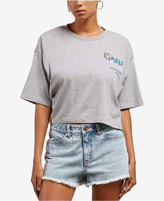 Volcom Juniors' Cotton Cropped T-Shirt