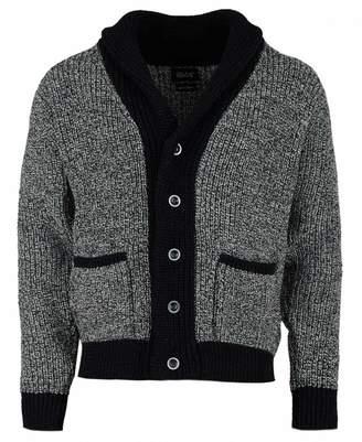 Melange Home Howlin Walk In The Park Cardigan Colour: BLACK MELANGE, Size: LARGE