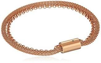 Fossil Women's -Tone Steel Bracelet