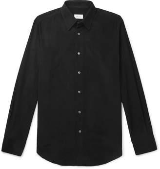 Brioni Cotton-Corduroy Shirt - Men - Black