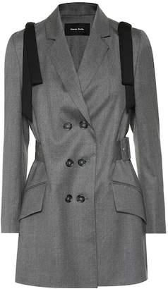 Simone Rocha Bow-trimmed wool-blend blazer