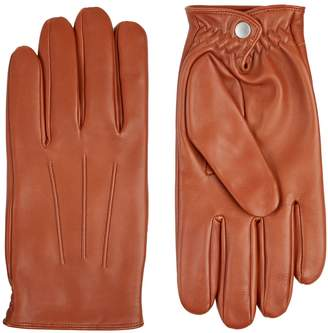 Sandro Classic Leather Gloves