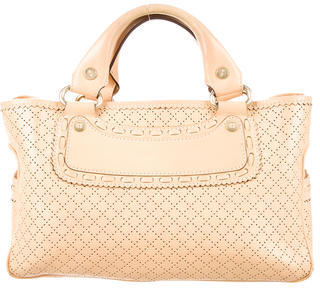 CelineCéline Perforated Boogie Bag