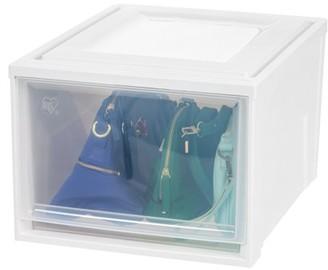 Iris Usa IRIS USA, Deep Plastic Box Chest Drawer Unit, White, 3 Pack