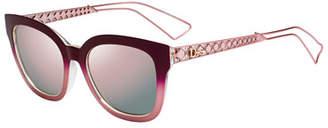 6248499681da Christian Dior Diorama Caged Monochromatic Sunglasses