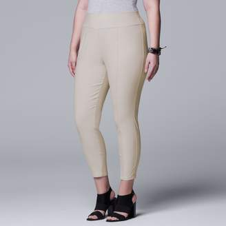 70e8eecb175b69 Vera Wang Plus Size Simply Vera Modern Ankle Pants