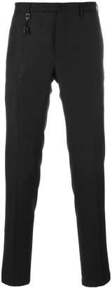 Incotex pleated slim fit trousers