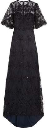 Catherine Deane Grazia Embellished Tulle Gown
