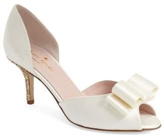 Kate Spade Sela Glitter Heel D'orsay Pump