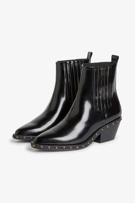 Monki Studded cowboy boots