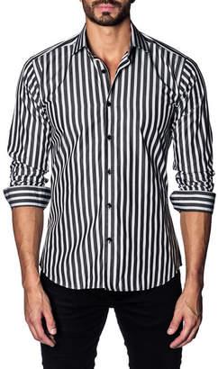 Jared Lang Stripe Slim Fit Shirt