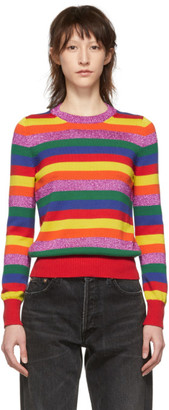 Moncler Multicolor Stripe Knit Sweater