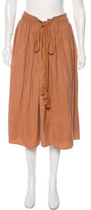 Apiece Apart Layered Midi Skirt