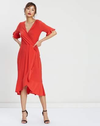 Warehouse Longline Tea Dress