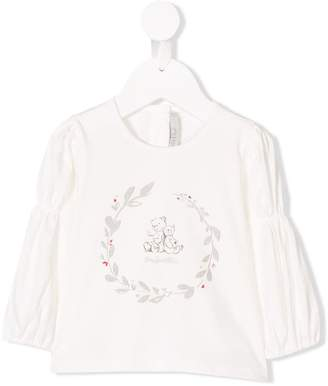 Christian Dior teddy print top