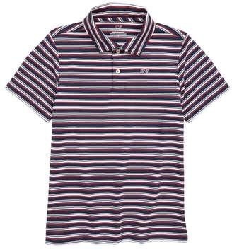 Vineyard Vines Sanka Stripe Polo