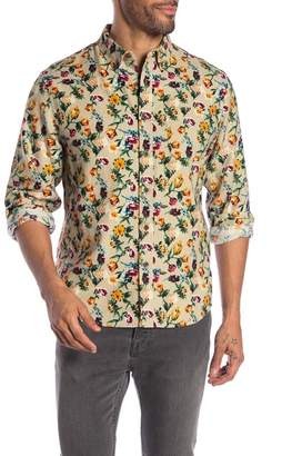 MODERN LIBERATION Flannel Floral Print Regular Fit Shirt
