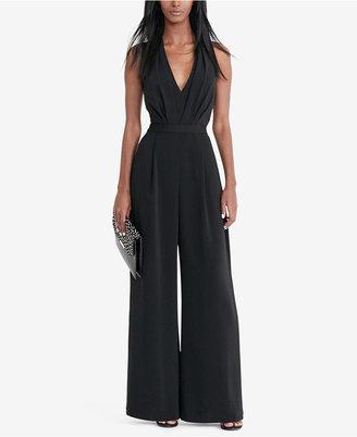 Lauren Ralph Lauren Crepe Wide-Leg Jumpsuit $200 thestylecure.com