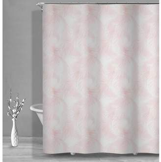 Style Quarters Royal Feathers shower curtain - Blush