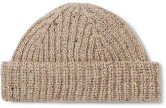 J.Crew Ribbed Donegal Wool-Blend Beanie