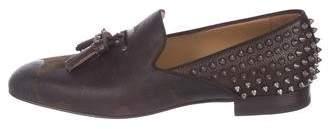 Christian Louboutin Tassilo Flat Spike Loafers