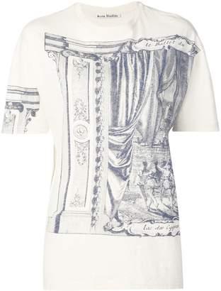 Acne Studios theatre print T-shirt