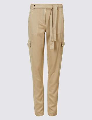 Marks and Spencer Pure Modal Cargo Trousers