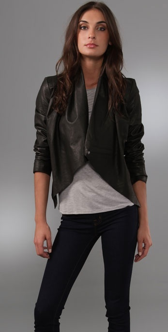 Bb Dakota Cartersville Leather Jacket