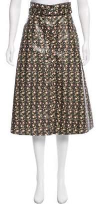 Philosophy di Lorenzo Serafini Floral Midi Skirt