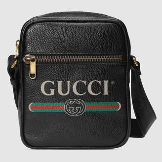Gucci Print messenger bag