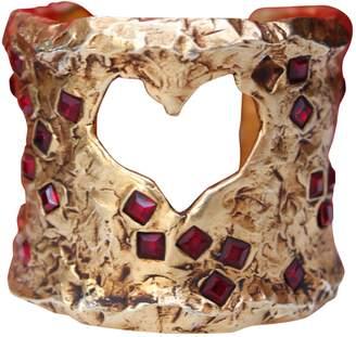 Christian Lacroix Vintage Gold Metal Bracelets
