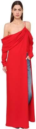 Monse Draped Viscose Long Dress
